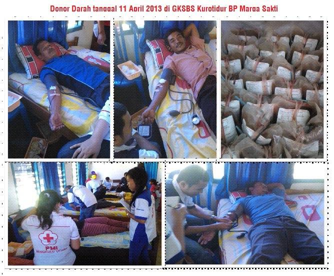 Aksi Puasa Paskah GKSBS Kurotidur, Bengkulu Utara