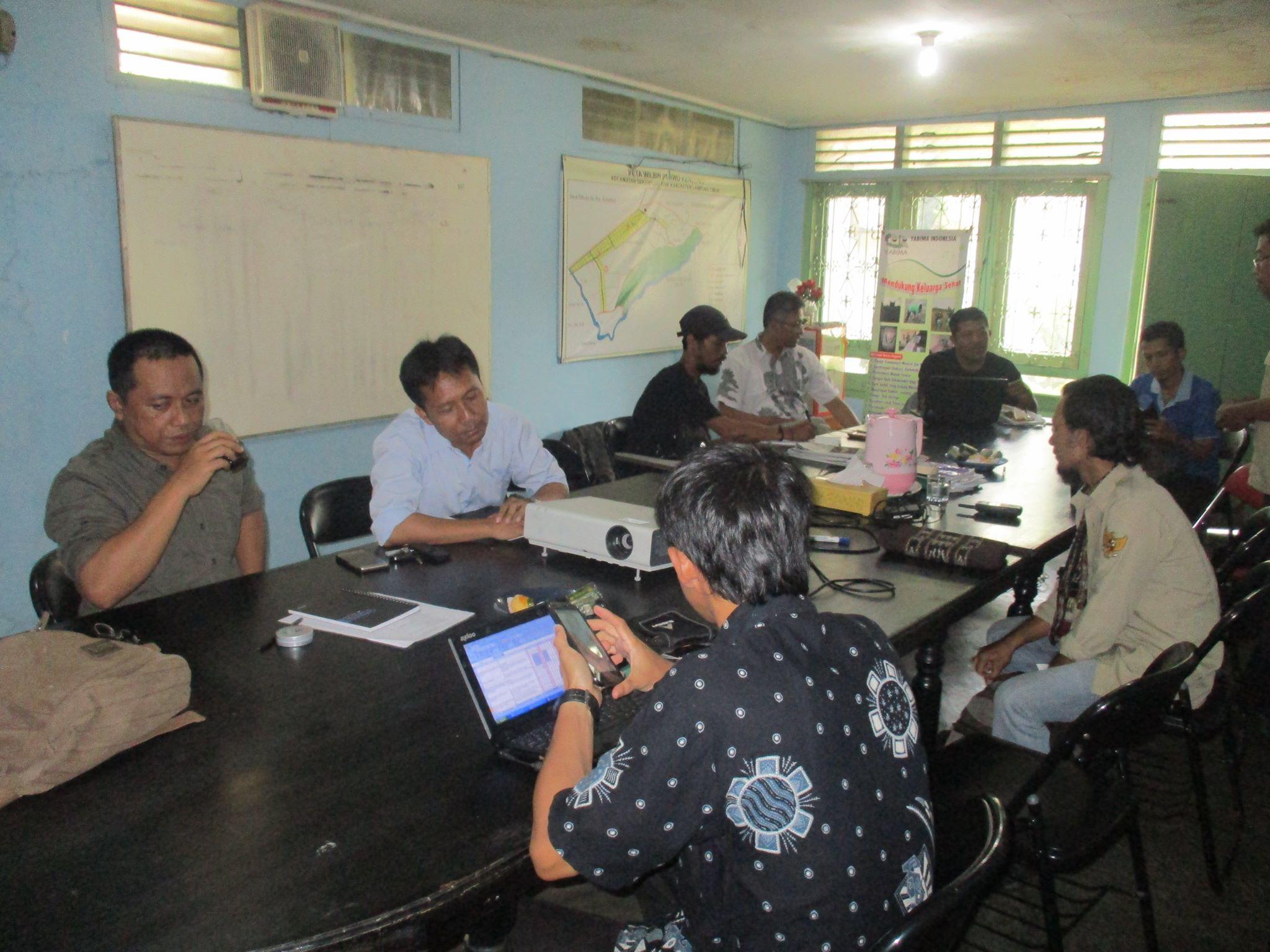 Rapat pembentukan Tim7 untuk Keadilan Agraria