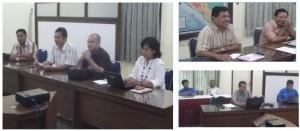 pertemuan pembuka di kantor Sinode GKSBS