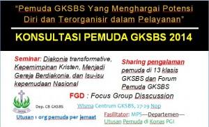 Konsultasi Pemuda GKSBS 2014