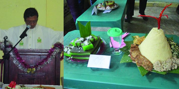 Ibadah Merayakan Keanekaragaman Sumber Pangan di GKSBS Panca Tunggal