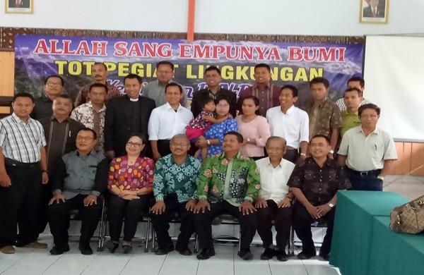 Peserta Lokakarya Pegiat Lingkungan Hidup di Toraja.